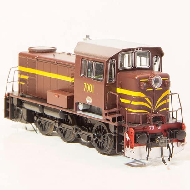 IDR Models 7001 Indian Red